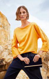 Женская блузка с пуговицами на рукавах Burdastyle фото 1