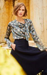 Женская блузка с завязками Burdastyle фото 1