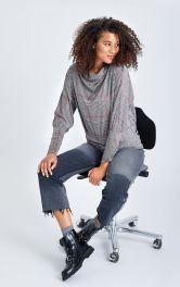 Женская блузка просторного кроя Burdastyle