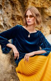 Женская бархатная блузка Burdastyle фото 1