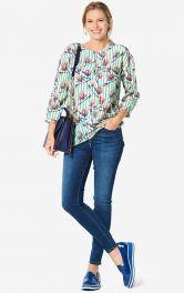 Женская блузка прямого кроя Burdastyle