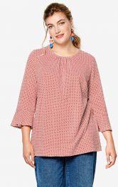 Женская трикотажная блуза Burdastyle