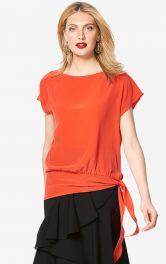 Жіноча шовкова блузка Burdastyle