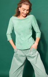 Жіноча замшева блузка Burdastyle