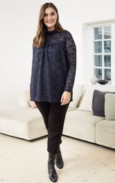 Женская кружевная блузка Burdastyle фото 1