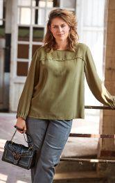 Женская блузка свободного кроя Burdastyle фото 1