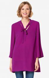 Жіноча блузка розкльошеного крою Burdastyle