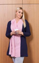 Жіноча блузка в стилі колор-блокінг Burdastyle