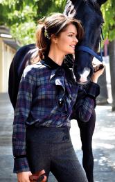 Жіноча блузка з воланами Burdastyle