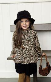 Дитяча блузка просторого крою Burdastyle