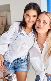 Дитяча блузка з вишивкою Burdastyle
