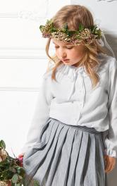 Дитяча блузка з оборками Burdastyle