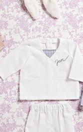 Дитяча сорочка із застібкою на спинці Burdastyle