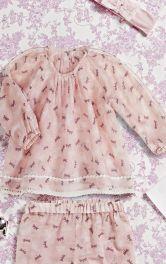 Дитяча блузка з рукавами реглан Burdastyle