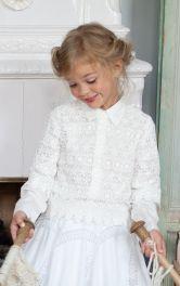 Дитяча мереживна блузка Burdastyle