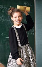 Дитяча блузка з відкладним коміром Burdastyle