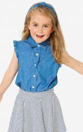 Дитяча джинсова блузка Burdastyle