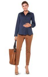 Жіноча блузка сорочкового крою для вагітних Burdastyle