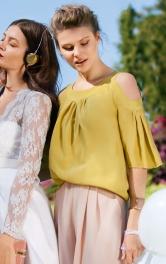 Жіноча блуза з отворами на плечах Burdastyle