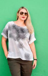 Жіноча футболка просторого крою Burdastyle
