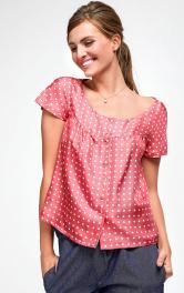 Жіноча вінтажна блузка Burdastyle