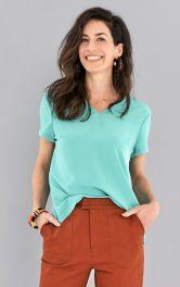 Жіноча футболка з короткими рукавами Burdastyle