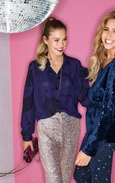 Жіноча шовкова блуза-сорочка Burdastyle