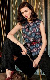 Жіноча блузка в стилі ретро Burdastyle