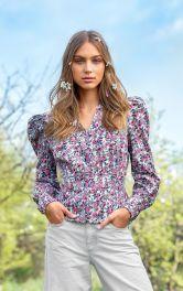 Женская блузка с баской Burdastyle фото 1