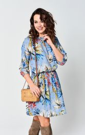 Женское платье простого кроя Burdastyle
