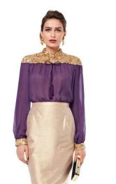Жіноча блузка прямого крою Burdastyle