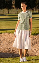 Жіноча блузка з відкладним комірцем Burdastyle