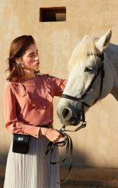 Женская блуза прямого кроя Burdastyle фото 1