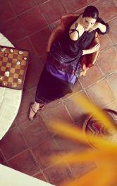 Жіноча лляна блузка Burdastyle