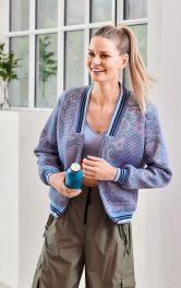 Жіночий блузон в портивному стилі Burdastyle
