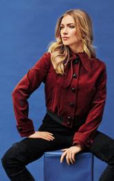 Жіночий вельветовий блузон Burdastyle