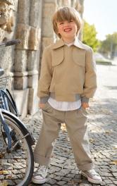 Дитячий блузон Burdastyle