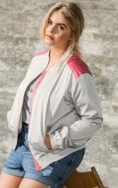 Жіночий блузон на блискавці Burdastyle