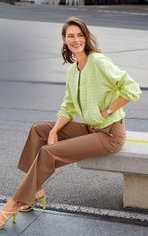 Жіноча блузон з рукавами реглан Burdastyle