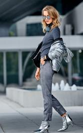 Жіночі замшеві брюки Burdastyle