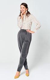 Женские брюки бананы Burdastyle