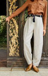 Жіночі брюки-банани Burdastyle