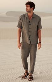 Чоловічі брюки завуженого крою Burdastyle