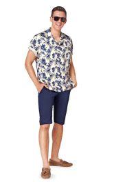 Чоловічі джинсові бриджі Burdastyle