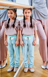 Детские трикотажные штаны Burdastyle