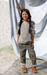 Дитячі шкіряні брюки Burdastyle
