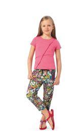 Дитячі трикотажні штани Burdastyle