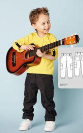 Дитячі брюки карго Burdastyle