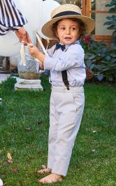 Дитячі брюки класичного крою Burdastyle