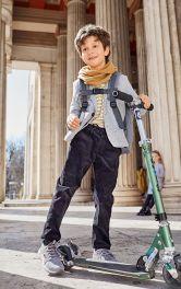Дитячі вельветові брюки Burdastyle